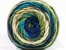 Fiber Content 100% Acrylic, Turquoise, Navy, Brand ICE, Green, Cream, fnt2-58458