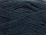 Fiber Content 50% Acrylic, 50% Wool, Brand ICE, Anthracite Black, fnt2-58560