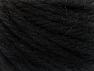 Fiber Content 60% Acrylic, 40% Wool, Brand ICE, Black, fnt2-58681
