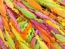 Fiber Content 100% Polyamide, Yellow, Pink, Orange, Brand ICE, Green, fnt2-58962