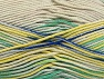Fiber Content 100% Mercerised Cotton, Yellow, Brand ICE, Green Shades, Blue, Beige, fnt2-58986