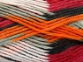 Fiber Content 80% Acrylic, 20% Polyamide, White, Orange, Light Grey, Brand ICE, Burgundy, Black, fnt2-58994