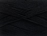 Fiber Content 75% Superwash Wool, 25% Polyamide, Brand ICE, Black, fnt2-58999