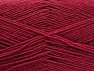 Fiber Content 75% Superwash Wool, 25% Polyamide, Brand ICE, Burgundy, fnt2-59004