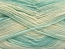 Fiber Content 100% Acrylic, White, Mint Green, Brand ICE, fnt2-59329