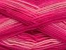 Fiber Content 100% Acrylic, Pink Shades, Brand ICE, Fuchsia, fnt2-59335