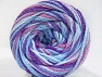 Fiber Content 50% Acrylic, 50% Polyamide, Orchid, Lilac, Brand ICE, Blue Shades, fnt2-59349