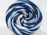 Fiber Content 50% Polyamide, 50% Acrylic, White, Navy, Brand ICE, Blue Shades, fnt2-59350