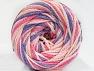 Fiber Content 50% Polyamide, 50% Acrylic, Pink Shades, Lilac, Brand ICE, fnt2-59359