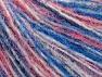 Fiber Content 40% Polyamide, 35% Acrylic, 25% Wool, White, Pink Shades, Brand ICE, Blue, fnt2-59488