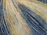 Fiber Content 40% Polyamide, 35% Acrylic, 25% Wool, Yellow, White, Brand ICE, Blue Shades, fnt2-59491