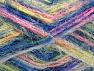 Fiber Content 60% Acrylic, 40% Polyamide, Pink, Neon Yellow, Brand ICE, Blue, fnt2-59686