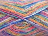 Fiber Content 60% Acrylic, 40% Polyamide, Yellow, Turquoise, Pink, Mint Green, Brand ICE, Blue, fnt2-59692