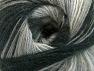 Fiber Content 60% Acrylic, 20% Angora, 20% Wool, Brand ICE, Grey Shades, Black, fnt2-59746