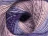 Fiber Content 60% Acrylic, 20% Angora, 20% Wool, Purple, Lilac Shades, Brand ICE, fnt2-59754