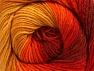 Fiber Content 70% Acrylic, 30% Merino Wool, Yellow, Red, Orange, Brand ICE, Gold, fnt2-59773