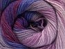 Fiber Content 70% Acrylic, 30% Merino Wool, Purple, Orchid, Lilac Shades, Brand ICE, fnt2-59777