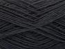 Fiber Content 95% Cotton, 5% Paillette, Brand ICE, Black, fnt2-59860
