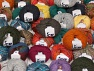 Fancy Yarns This mixed lot includes a total of 2000 gr (70.5 oz.) yarn. There is no standard for ball weight. Also disregard any information on the labels. You will get what you see in the photo. Brand ICE, fnt2-59915