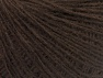 Fiber Content 50% Wool, 50% Acrylic, Brand ICE, Coffee Brown, fnt2-60013