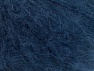 Fiber Content 45% Acrylic, 25% Wool, 20% Mohair, 10% Polyamide, Navy, Brand ICE, fnt2-60061