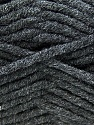 Fiber Content 50% Acrylic, 50% Merino Wool, Brand KUKA, Dark Grey, Yarn Thickness 5 Bulky  Chunky, Craft, Rug, fnt2-16721