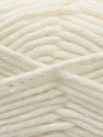 Fiber Content 50% Acrylic, 50% Merino Wool, White, Brand KUKA, Yarn Thickness 5 Bulky  Chunky, Craft, Rug, fnt2-16722