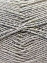 Fiber Content 55% Virgin Wool, 5% Cashmere, 40% Acrylic, Silver, Brand Ice Yarns, Yarn Thickness 2 Fine  Sport, Baby, fnt2-21116