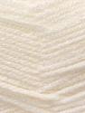 Fiber Content 100% Acrylic, White, Brand ICE, Yarn Thickness 3 Light  DK, Light, Worsted, fnt2-22404