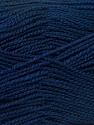 Fiber Content 100% Acrylic, Navy, Brand ICE, Yarn Thickness 1 SuperFine  Sock, Fingering, Baby, fnt2-24608