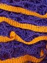 Fiber Content 100% Acrylic, Yellow, Purple, Brand ICE, Yarn Thickness 6 SuperBulky  Bulky, Roving, fnt2-25524