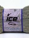 Fiber Content 65% Nylon, 35% Acrylic, Light Khaki, Brand ICE, Yarn Thickness 6 SuperBulky  Bulky, Roving, fnt2-30611