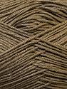 Fiber Content 100% Antibacterial Dralon, Khaki, Brand Ice Yarns, Yarn Thickness 2 Fine  Sport, Baby, fnt2-34585
