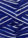 Ne: 8/4. Nm 14/4 Fiber Content 100% Mercerised Cotton, White, Navy, Brand Ice Yarns, Blue, Yarn Thickness 2 Fine  Sport, Baby, fnt2-34756