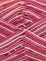 Ne: 8/4. Nm 14/4 Fiber Content 100% Mercerised Cotton, White, Rose Pink, Brand Ice Yarns, Yarn Thickness 2 Fine  Sport, Baby, fnt2-34762