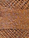 Fiber Content 70% Polyester, 30% Metallic Lurex, Brand YarnArt, Silver, Camel, Yarn Thickness 0 Lace  Fingering Crochet Thread, fnt2-34766