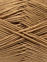 Fiber Content 100% Antibacterial Dralon, Light Brown, Brand Ice Yarns, Yarn Thickness 2 Fine  Sport, Baby, fnt2-35233