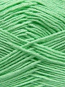 Fiber Content 100% Antibacterial Dralon, Mint Green, Brand Ice Yarns, Yarn Thickness 2 Fine  Sport, Baby, fnt2-35234