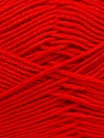 Fiber Content 100% Antibacterial Dralon, Red, Brand Ice Yarns, Yarn Thickness 2 Fine  Sport, Baby, fnt2-35243
