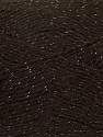 Fiber Content 70% Acrylic, 5% Lurex, 25% Angora, Brand Ice Yarns, Dark Brown, Yarn Thickness 2 Fine  Sport, Baby, fnt2-36547