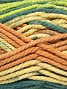 Fiber Content 100% Acrylic, Salmon, Brand ICE, Grey, Green, Cream, Yarn Thickness 6 SuperBulky  Bulky, Roving, fnt2-36972