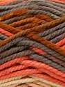 Fiber Content 100% Acrylic, Yellow, Salmon, Brand ICE, Grey, Yarn Thickness 6 SuperBulky  Bulky, Roving, fnt2-36973