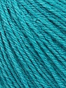 Fiber Content 50% Silk, 30% Merino Superfine, 20% Cashmere, Turquoise, Brand ICE, Yarn Thickness 3 Light  DK, Light, Worsted, fnt2-36996