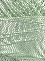 Fiber Content 100% Micro Fiber, Brand YarnArt, Mint Green, Yarn Thickness 0 Lace  Fingering Crochet Thread, fnt2-39567
