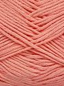 Fiber Content 50% Cotton, 50% Bamboo, Light Salmon, Brand Ice Yarns, Yarn Thickness 2 Fine  Sport, Baby, fnt2-41443