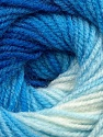 Fiber indhold 100% Baby Akryl, Brand Ice Yarns, Blue Shades, Yarn Thickness 2 Fine  Sport, Baby, fnt2-41724