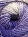 Fiberinnehåll 100% Baby akryl, White, Lilac Shades, Brand ICE, Yarn Thickness 2 Fine  Sport, Baby, fnt2-41725