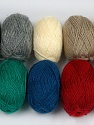Please note that lengths are not equal for each lot. Fiber Content 100% Acrylic, Brand Ice Yarns, Dark Colors, Yarn Thickness 1 SuperFine  Sock, Fingering, Baby, fnt2-42181