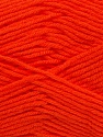 Fiber Content 100% Micro Acrylic, Orange, Brand Ice Yarns, Yarn Thickness 3 Light  DK, Light, Worsted, fnt2-42289