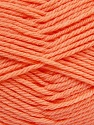 Fiber Content 50% Acrylic, 50% Polyamide, Light Salmon, Brand Ice Yarns, Yarn Thickness 3 Light  DK, Light, Worsted, fnt2-42387